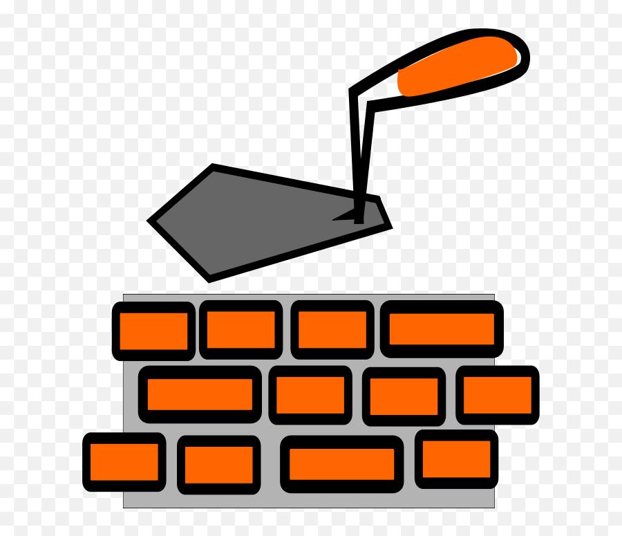 Building Bricks Clipart - Bricklaying Clipart Emoji