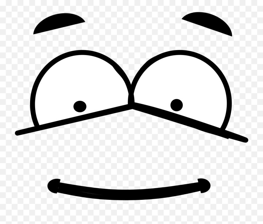 Outline Face Art Emoji PNG Clipart  PNG Mart - Clip Art