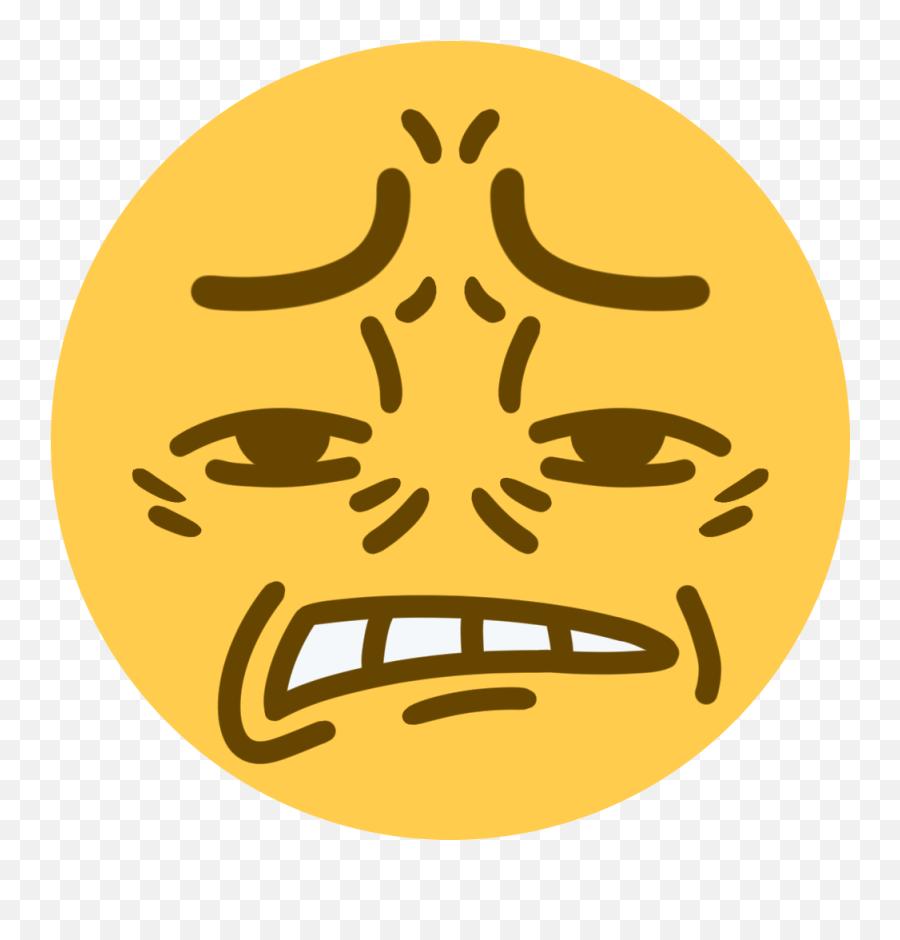 Cringe Discord Emoji Clipart - Cringe Anime Girl Transparent