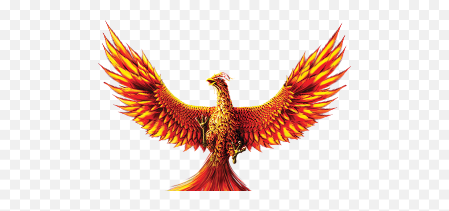 The Legendary 1 - Phoenix Bird Transparent Background Emoji