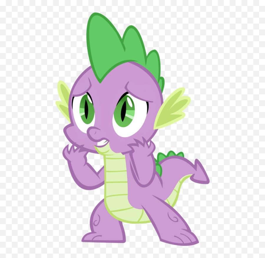 A Worried Dragon - Spike My Little Pony Emoji