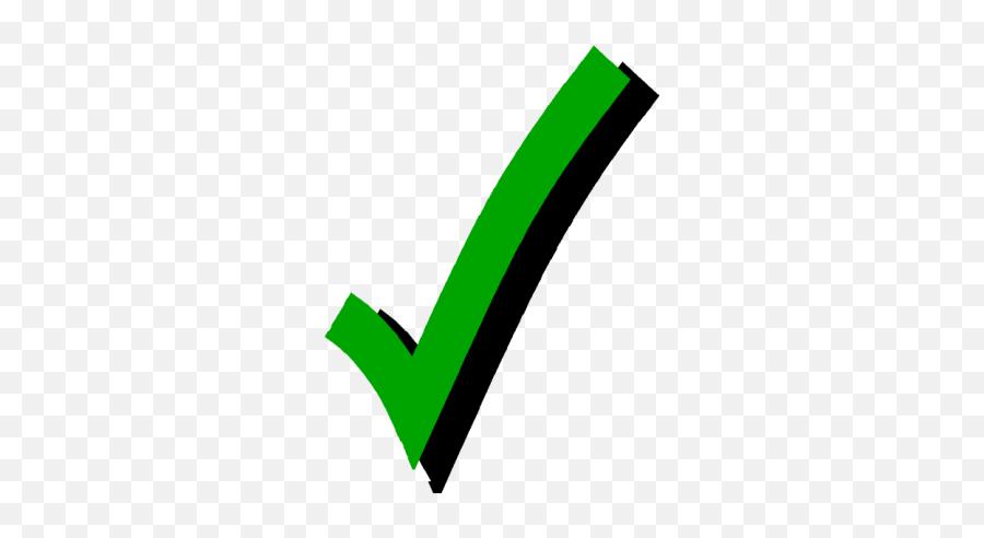 Checkmark Png Checkmark Transparent - Green Check Mark Emoji