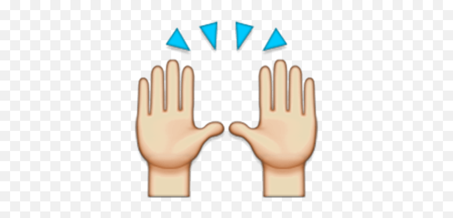 Our Hand Picked Okay Finger Clipart - Hands Up Emoji Png