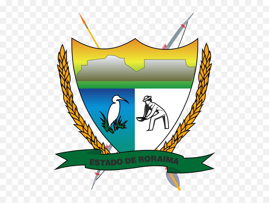 Brasão De Roraima - Governo Do Estado De Roraima Emoji,Santa Emoji Iphone