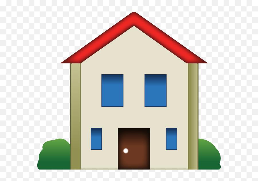 Get Emoji Art - House Emoji Transparent Background