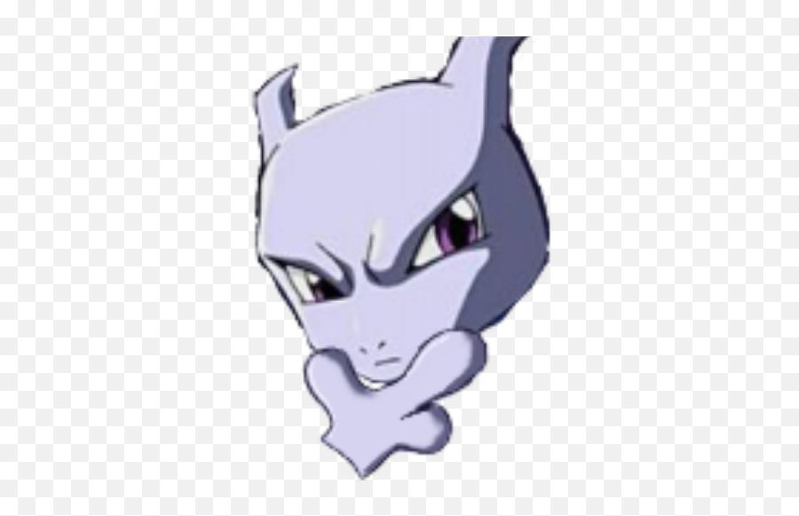 Mewtwo Think - Mewtwo Thinking Emoji