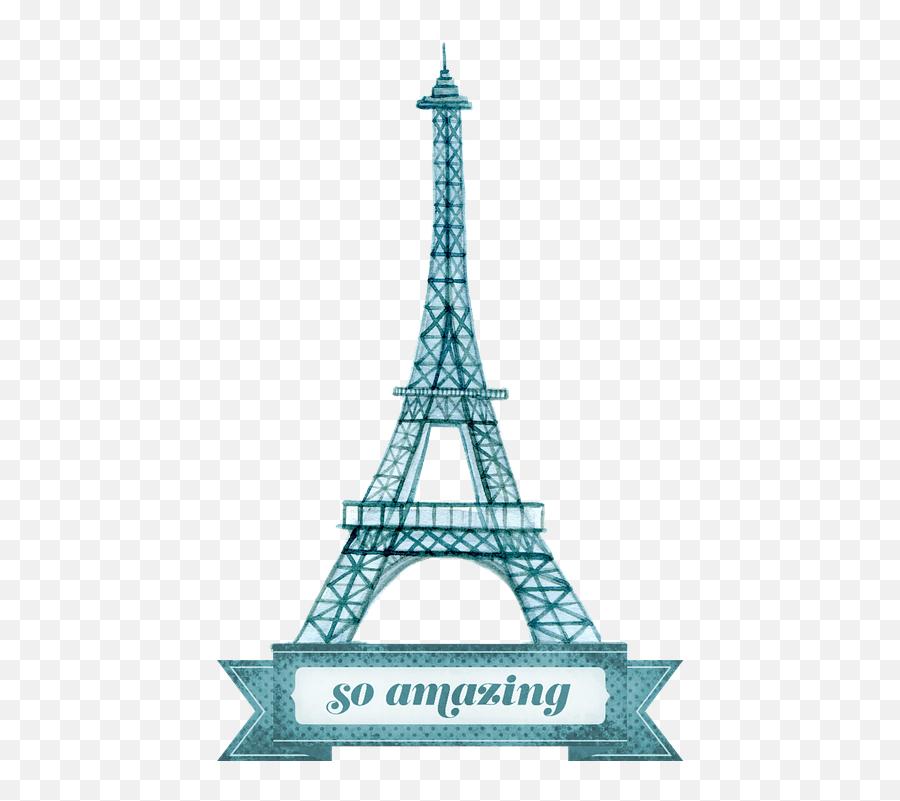 Eiffel Tower - Torre Eiffel Aqua Png Emoji,Is There An Eiffel Tower Emoji