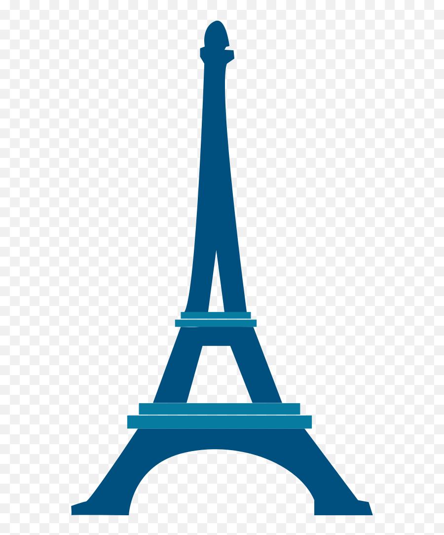 Eiffel Tower Blue Icon 2014 - Eiffel Tower Clipart Blue Emoji,Is There An Eiffel Tower Emoji