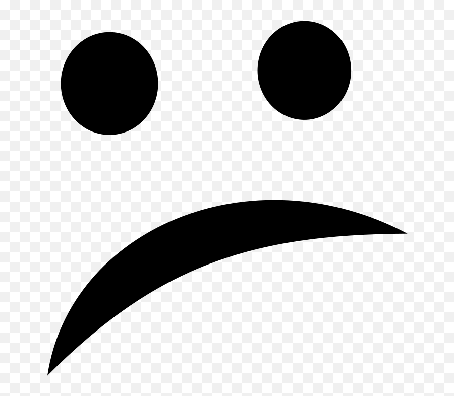 Negative Smiley - Negative Smiley Icon Wit Emoji