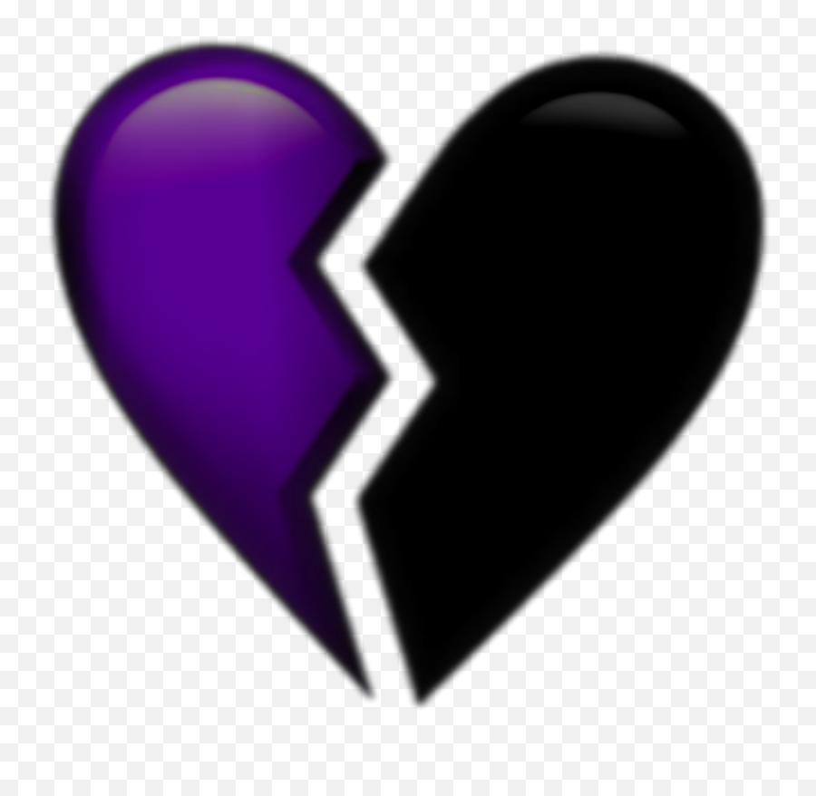 Brokenheart Emoji Purple Aesthetic Tumblr Png Aesthetic - Graham Stephan Girlfriend,Sparkling Heart Emoji
