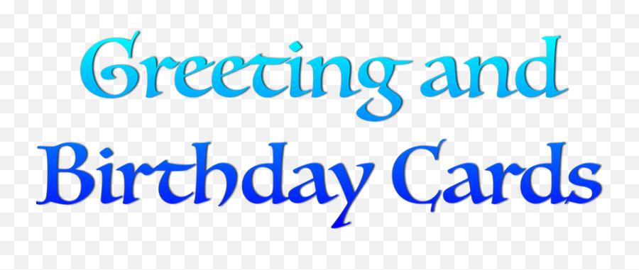 Birthday Emoticons - Calligraphy Emoji