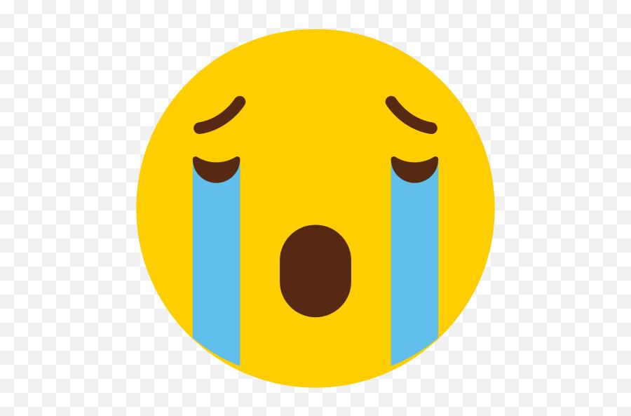 Crying Icon - Crying Icon Emoji,Crying Tears Emoji