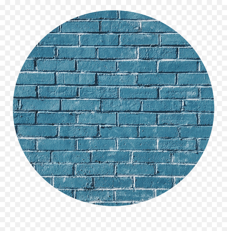 Brick Wall Brickwall Blue Bluewall - Background For Picsart Editing Blue Emoji