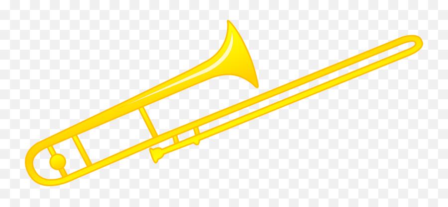 Animated Trombone Clipart - Cartoon Picture Of A Trombone Emoji