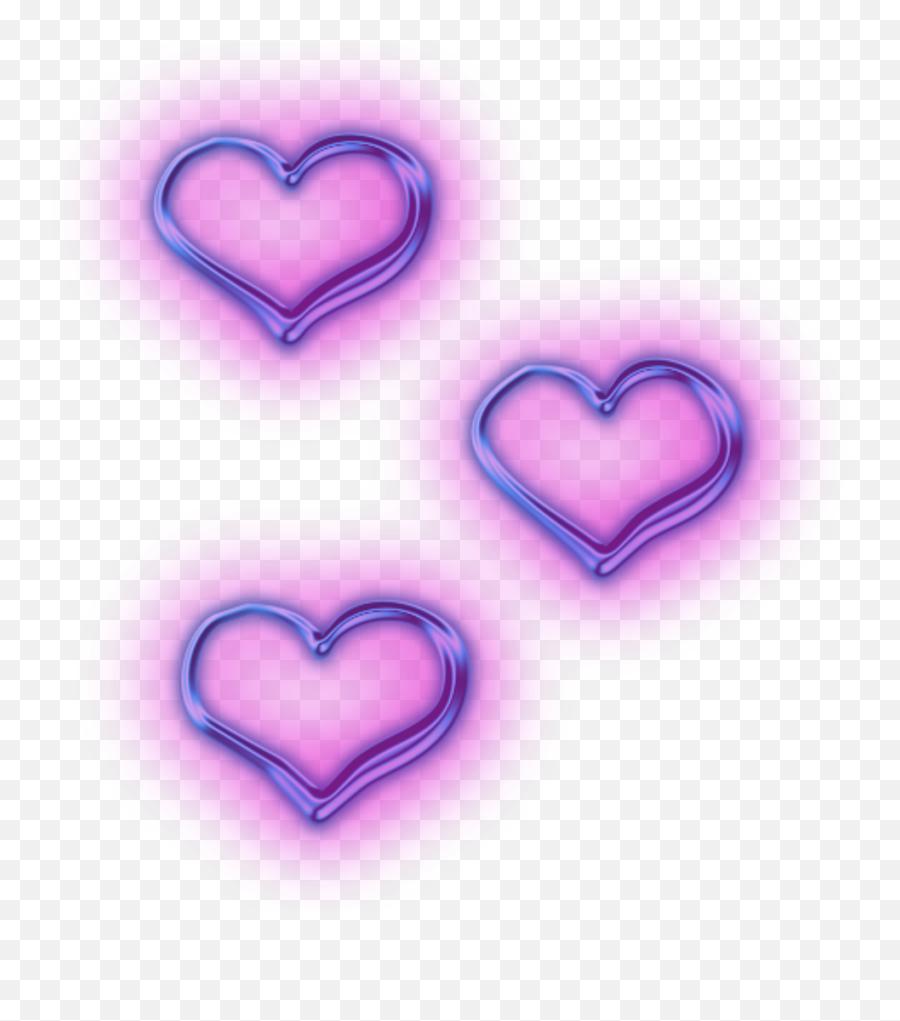 Neon Purple Heart Transparent Png Transparent Purple Aesthetic Png Emoji Purple Heart Emoji Transparent Free Transparent Emoji Emojipng Com