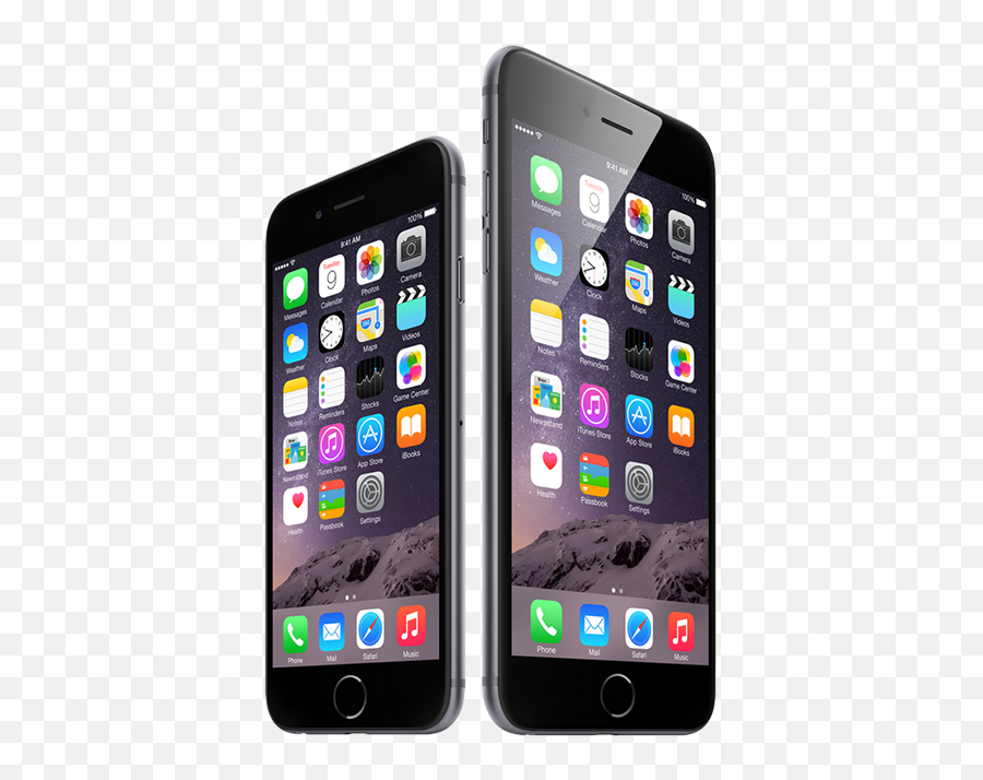 Download Iphone 6 Png - Iphone 6 Vs Iphone 10 Size Emoji,Iphone 6 Plus Emoji
