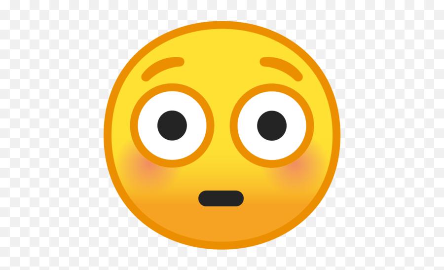 What Does - Transparent Background Blush Emoji