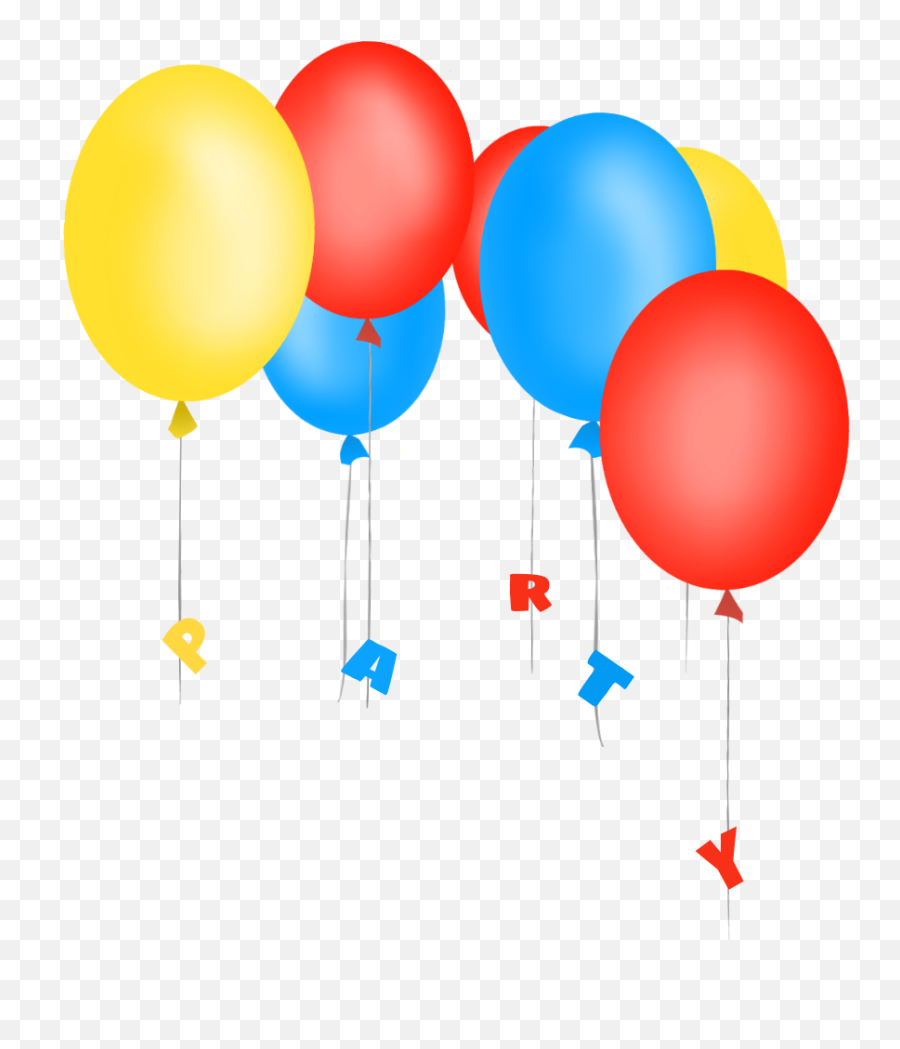 scballoons mydrawing birthday balloons party - Transparent Balloons And Confetti Emoji