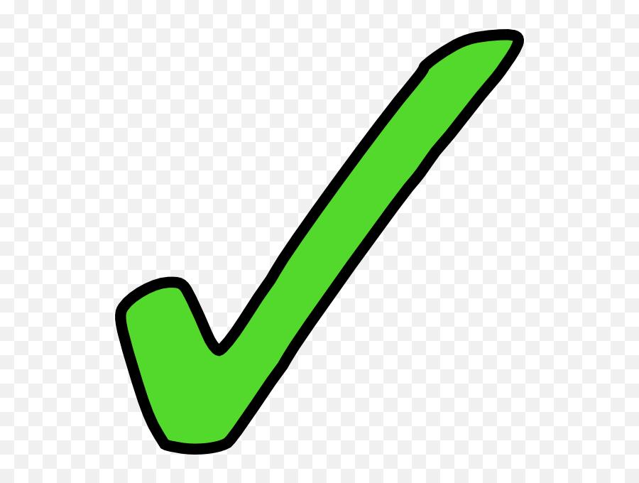 Green Clipart Ticks Green Ticks - Green Tick Clipart Emoji