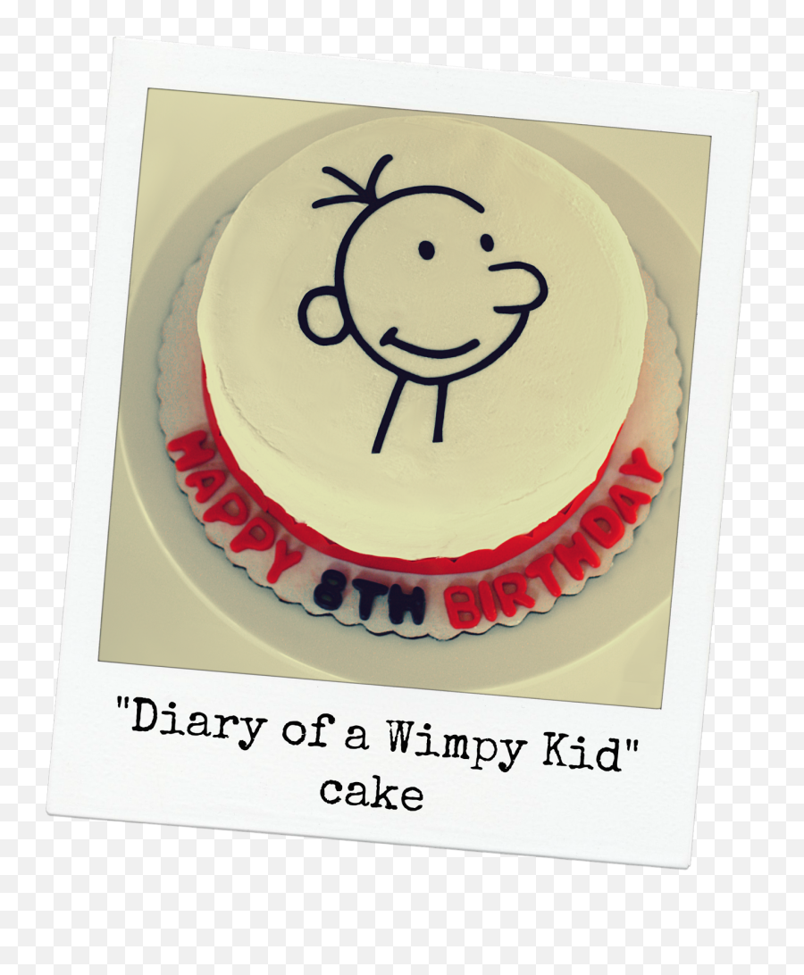 Keeping My Cents  Diary of a Wimpy Kid Birthday Party - Diary Of A Wimpy Kid Cake Emoji