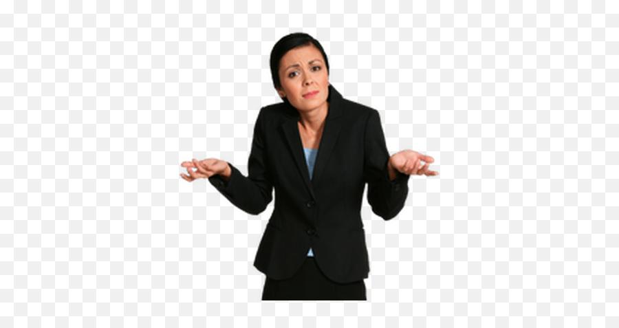 Download Shrug Emoji Woman - Girl Shrugging Transparent Background