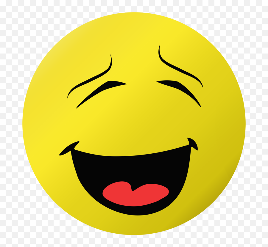 Emoticon Smiley Yellow Png Clipart - Smiley Laughing With Tongue Emoji,Joy Emoji