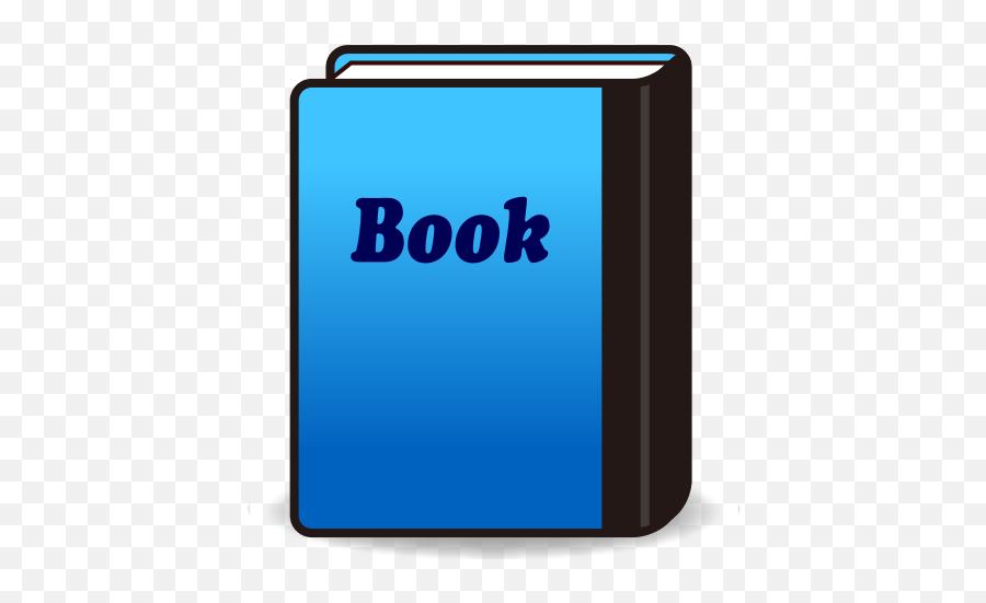 Blue Book Emoji For Facebook Email Sms - Book Emoji Blue