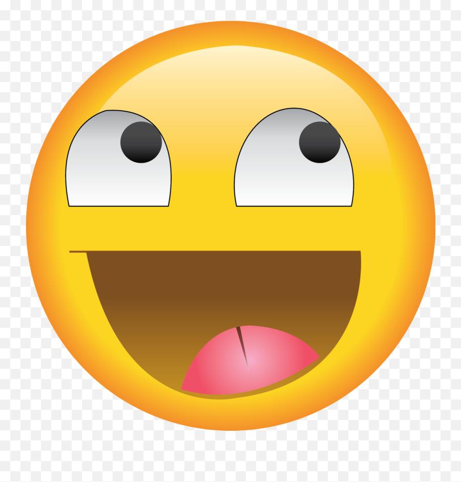 Yellow Smile Face Meme Emoji Style - Meme Smile Emoji