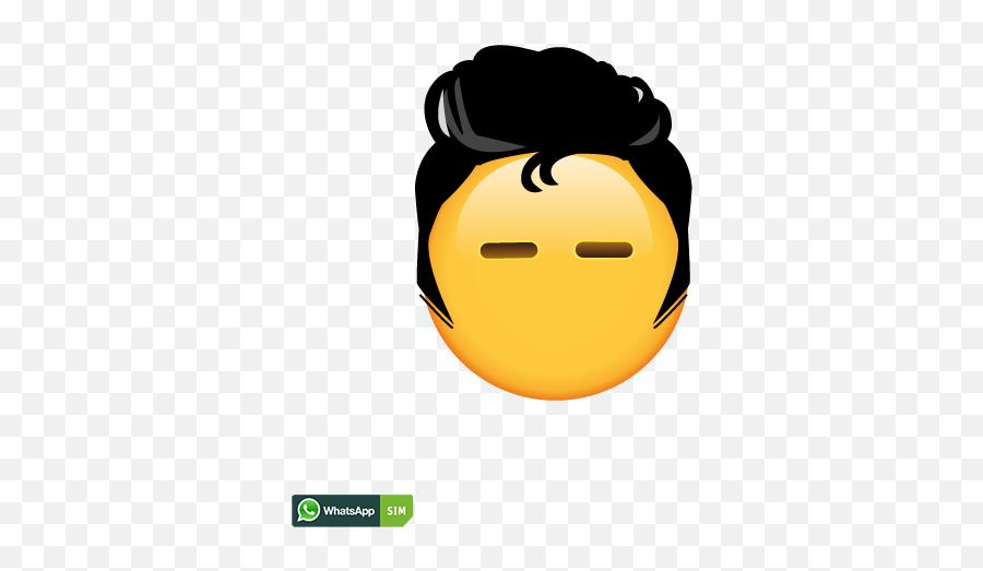 Cooles Emoticon Mit Elvis - Elvis Emoticon Emoji