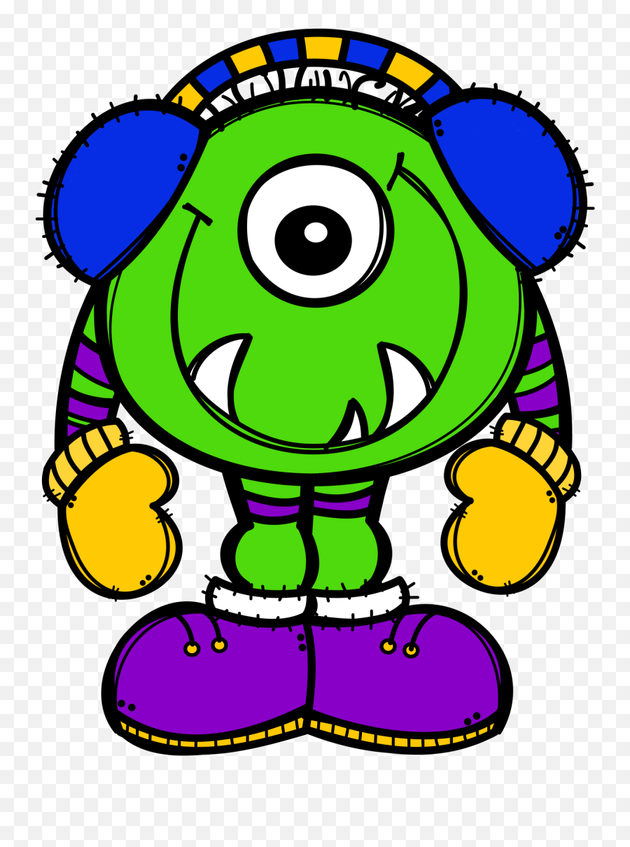 Emoji Clipart Teacher Emoji Teacher - Part Of The Body Monster