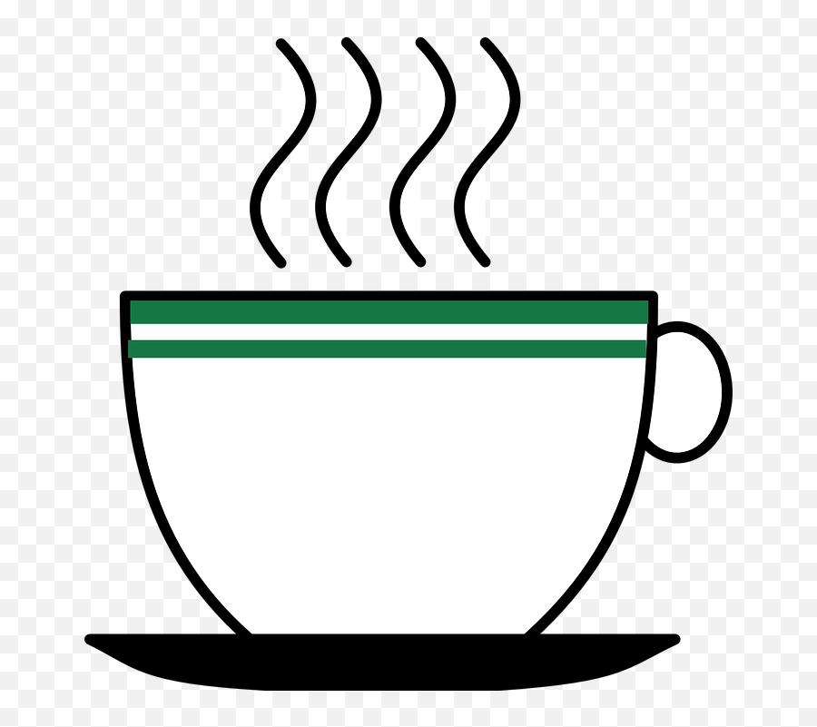 Free Saucer Coffee Illustrations - Hot Drink Clip Art Emoji