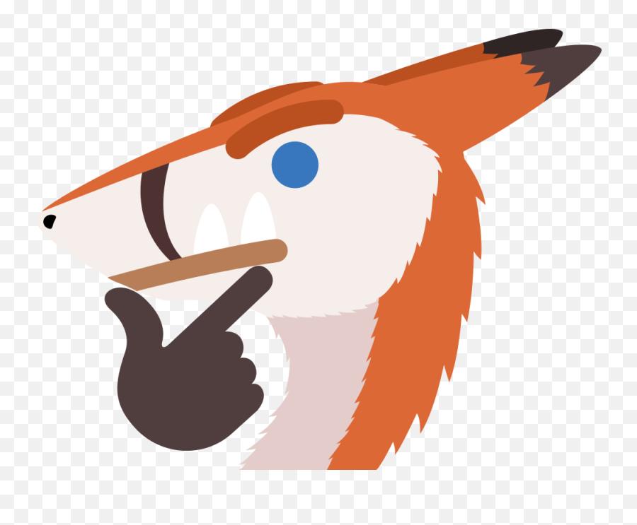Thinking Sergal - Illustration Emoji