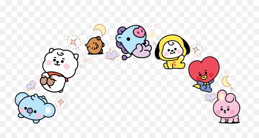 Bts Bt21 Bangtanboys Koya Rj Shooky Mang Chimmy Tata - Koya Bt21 Stickers Picsart Emoji,Bt21 Emoji