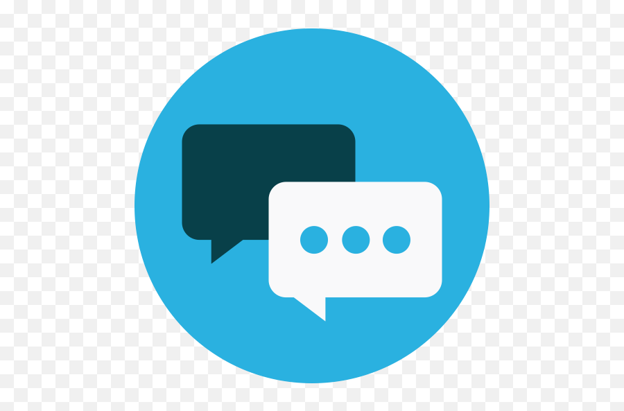 Live Share Chat - Chat Flat Icon Png Emoji
