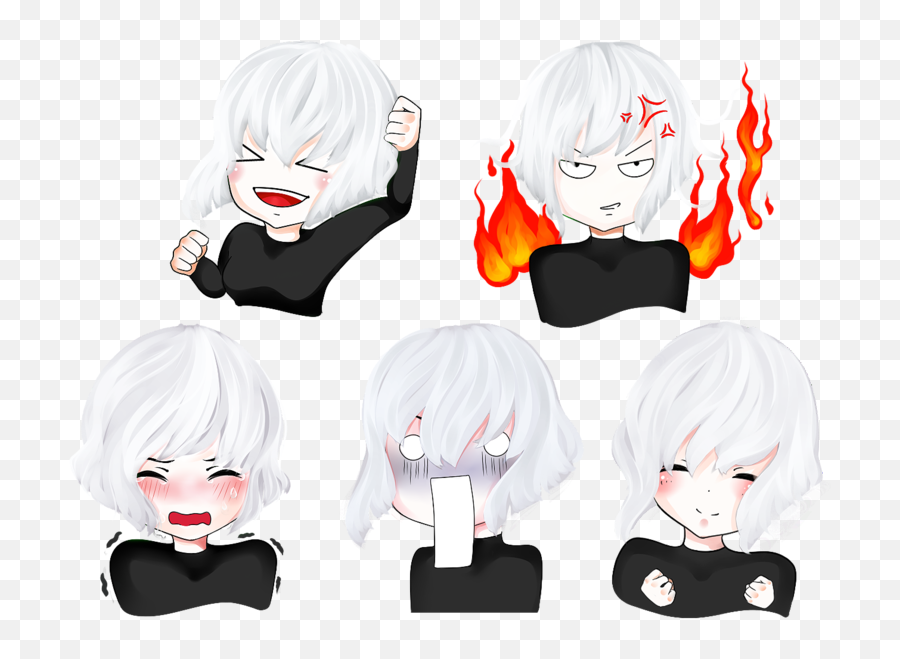 Emoji Sticker Pack - Anime Pack Emoji