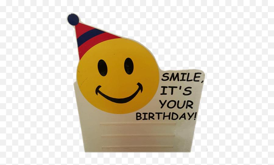 Let The World Know - Happy Birthday Emoji