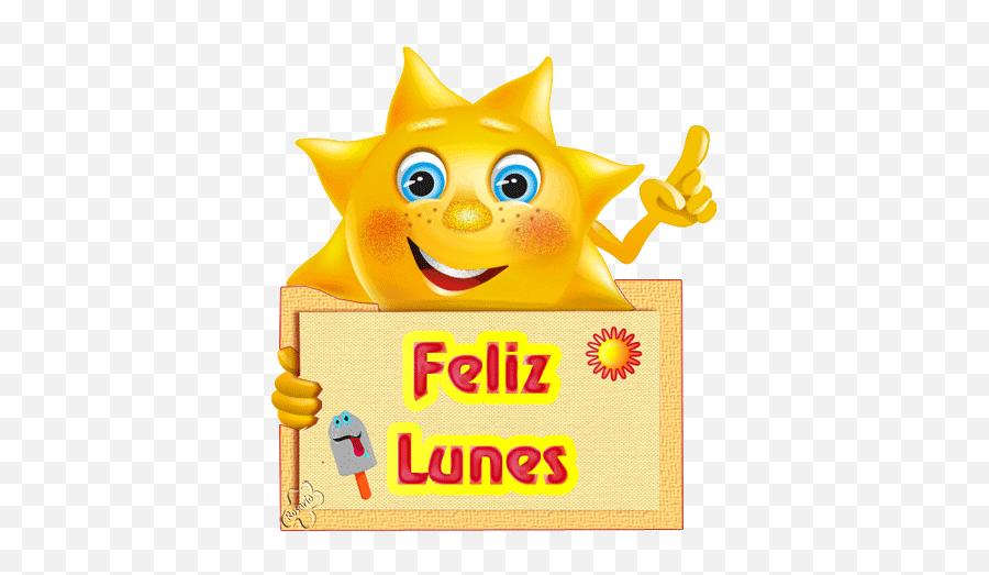 Feliz Lunes Stickers For Android Ios - Smiley Cartoon Frames Emoji,Emoticon Feliz
