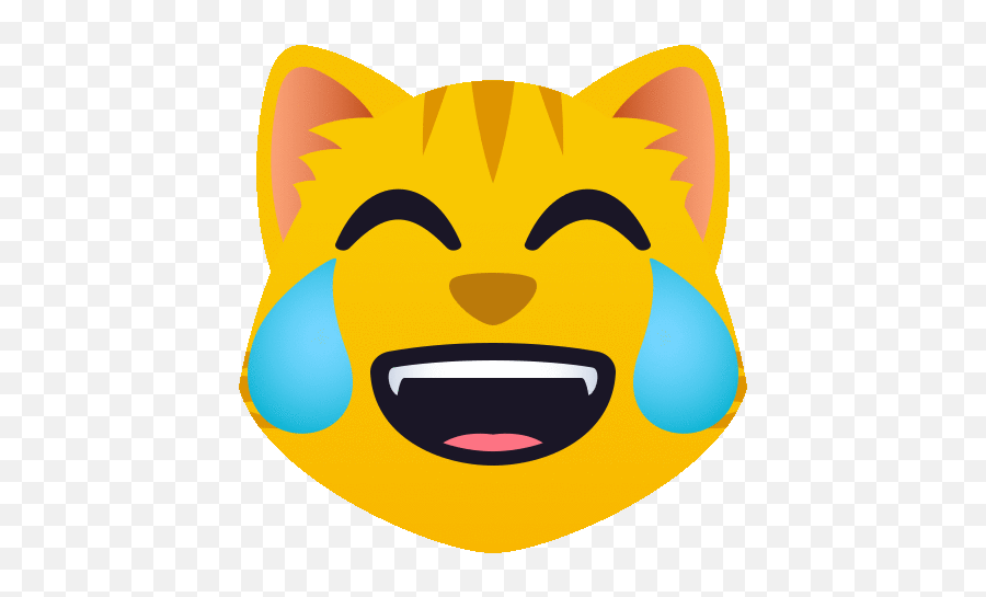 Cat With Tears Of Joy People GIF - CatWithTearsOfJoy People Joypixels  Discover u0026 Share GIFs  Happy Emoji