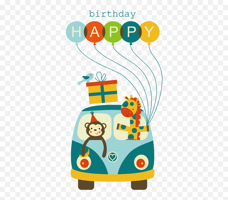 Stickers For Birthday - Birthday Card Design For Boss Emoji