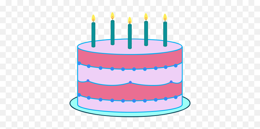 Top Happy Bday Girl Stickers For Android Ios - Birthday Cake Emoji