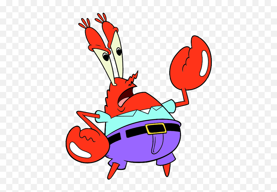 Confused Mr Krabs Png Picture - Spongebob Mr Krabs Png Emoji
