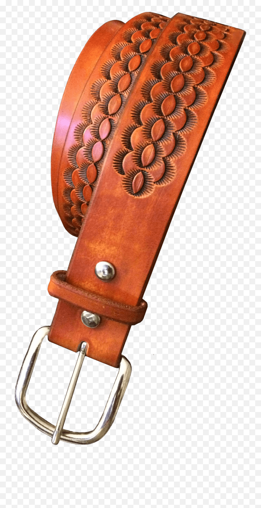 Arizona Hand Tooled Belt - Belt Emoji