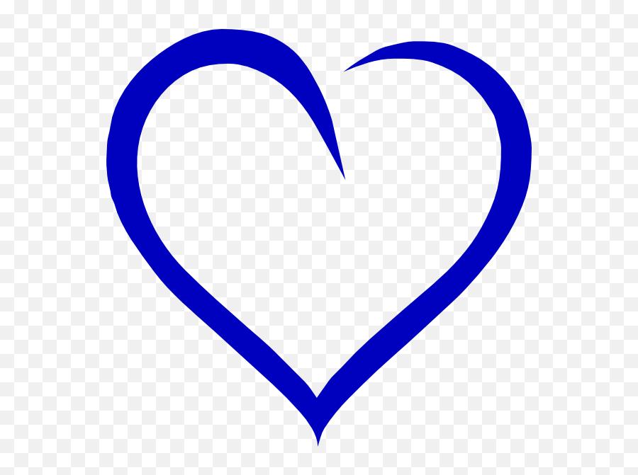 Royal Blue Blue Heart Clipart - Royal Blue Love Heart Emoji