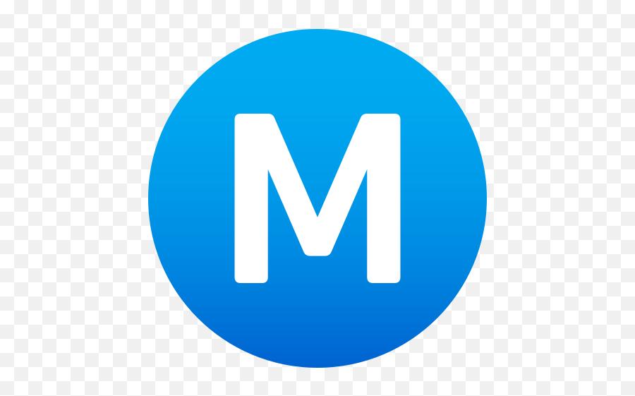 Emoji Encircled M To Wprock - Education Logo Png Blue,Blue Check Mark Emoji