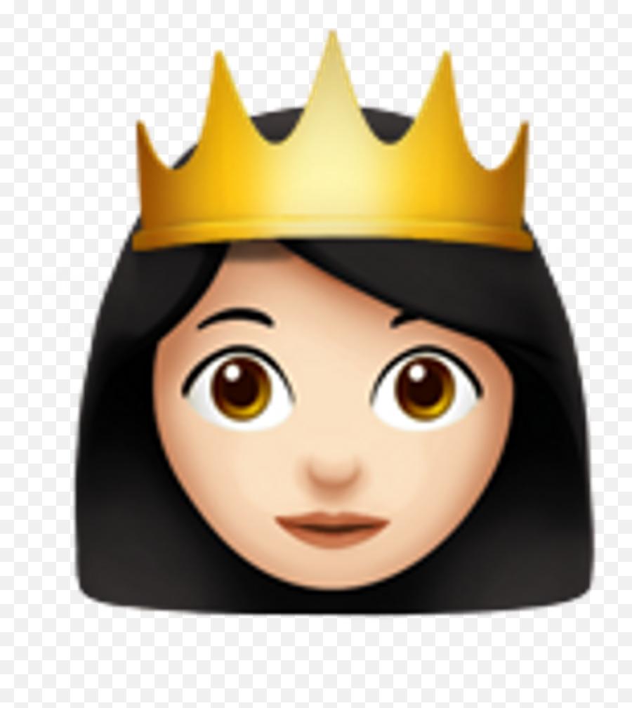 Download Hd Emoji Princess Crown Emoji,Crown Emoticon
