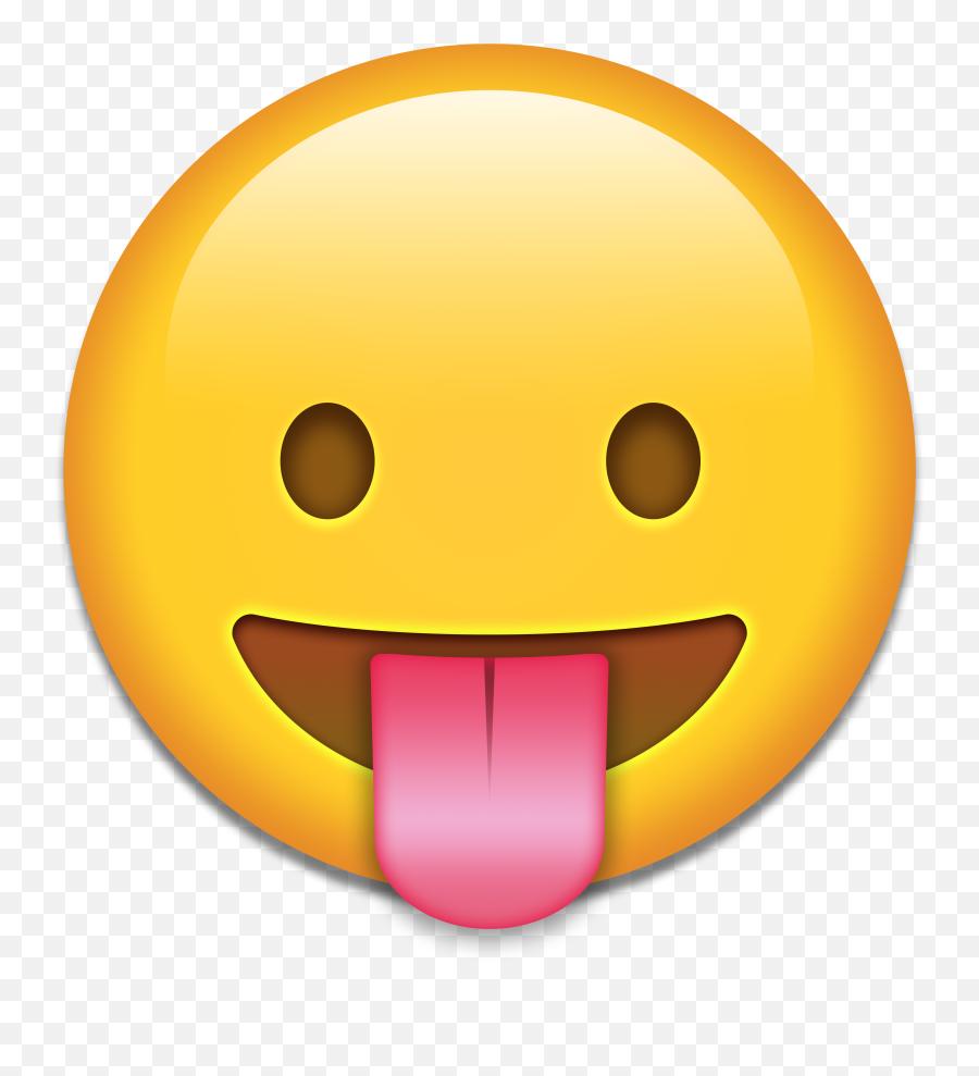 Art Emoji Smiley Sticker Clip Art - Tongue Emoji Transparent Background