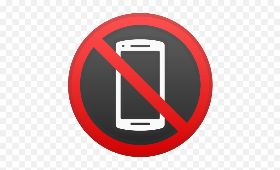No Mobile Phones Emoji Meaning With Pictures - No Cell Phone Icon Png Transparent,Cell Phone Emoji