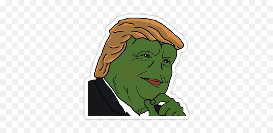 Pin on Pepe Stickers - Trump Pepe Png Emoji