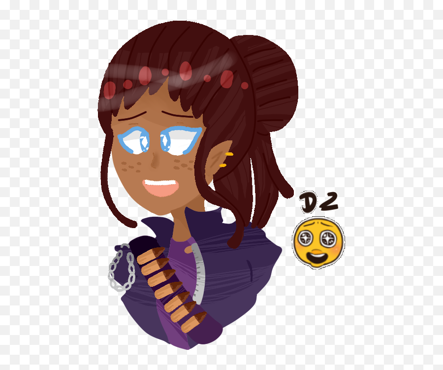 Teagan D2 - Cartoon Emoji
