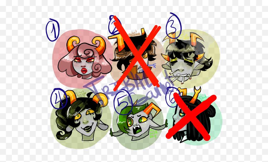 Discord Emoji Style Adopts 1 - Cartoon